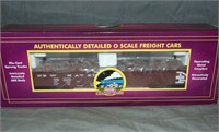 8 MTH Premier Freight Cars