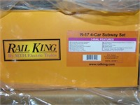 MTH RailKing 30-2392-1 & -3 MTA Subway Set