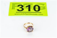 Jewelry 18kt Gold Purple / Blue Cocktail Ring