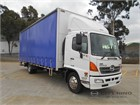 2014 Hino 500 Series Tautliner / Curtainsider