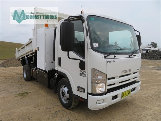 2014 Isuzu NPR 300 Factory Tipper Midcoast Trucks - Trucks for Sale