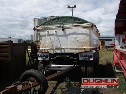 1989 Hamelex White Tipper Trailer Loughlin Bros Transport Equipment - Trailers for Sale