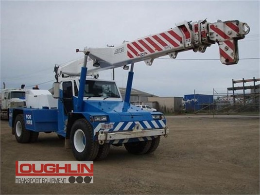2008 Franna Crane AT20 Loughlin Bros Transport Equipment - Cranes & Tailgates for Sale