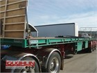 2008 Southern Cross Flat Top Trailer Extendable Trailers