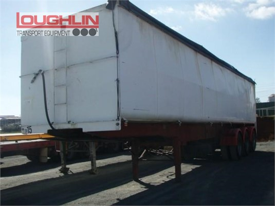 2006 Loughlin Grain Tipper Trailer Loughlin Bros Transport Equipment - Trailers for Sale