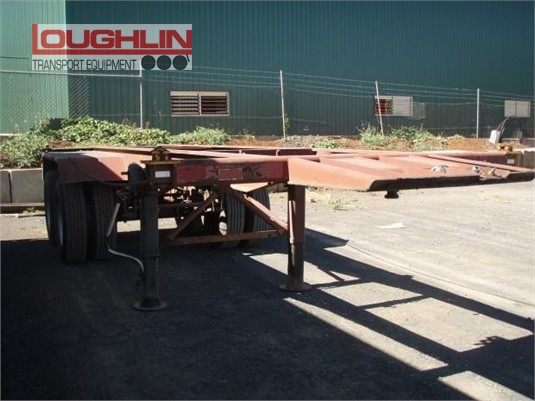 1991 Krueger Skeletal Trailer Loughlin Bros Transport Equipment - Trailers for Sale