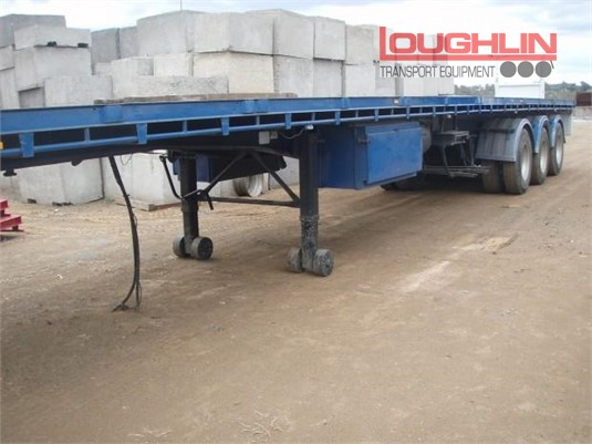 1999 Haulmark Flat Top Trailer Loughlin Bros Transport Equipment - Trailers for Sale