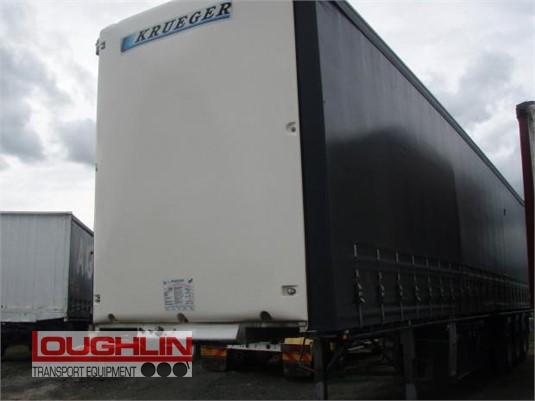 2016 Krueger Curtainsider Trailer Loughlin Bros Transport Equipment - Trailers for Sale