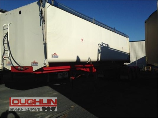 2013 Rhino Grain Tipper Trailer Loughlin Bros Transport Equipment - Trailers for Sale