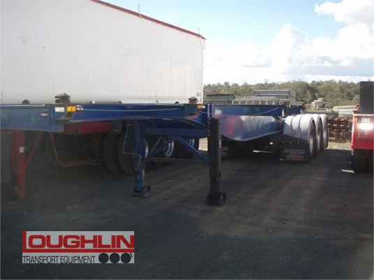 2010 Ophee Skeletal Trailer Loughlin Bros Transport Equipment - Trailers for Sale