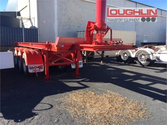 2008 Boomer Skeletal Trailer Loughlin Bros Transport Equipment - Trailers for Sale