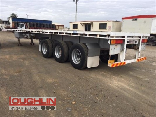 2005 Haulmark Flat Top Trailer Loughlin Bros Transport Equipment - Trailers for Sale