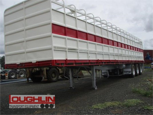 2012 Krueger Flat Top Trailer Loughlin Bros Transport Equipment - Trailers for Sale