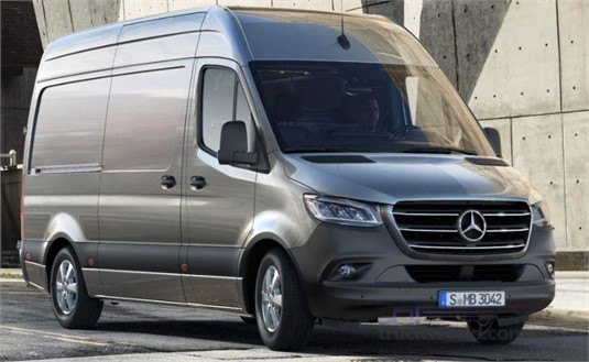 Mercedes Benz Sprinter 4.10t RWD Panel Van 414 MWB 7AT
