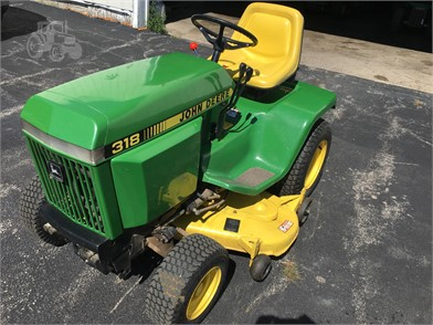 John Deere 318 For Sale 10 Listings Tractorhouse Com