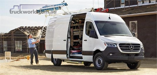 Mercedes Benz Sprinter FWD Panel Van 314 MWB 9AT