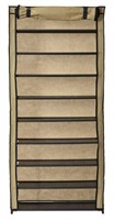 MUSCLE RACK SHOE RACK WITH COVER 10 LEVELS