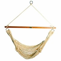 THE ALGOMA COTTON ROPE HANGING CHAIR