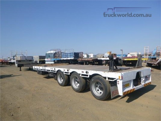 2012 Howard Porter Drop Deck Trailer Western Traders 87  - Trailers for Sale