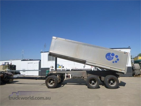 2004 Hamelex White Tipper Trailer Western Traders 87  - Trailers for Sale