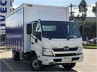 2018 Hino 300 Series Tautliner / Curtainsider