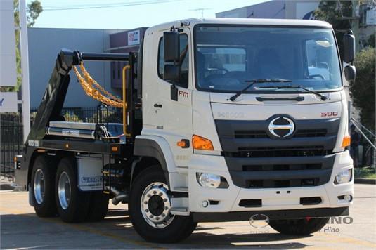 Hino 500 Series Skip Bin Truck