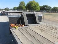 (DMV) 1974 Miller Tilt Bed Equipment Trailer