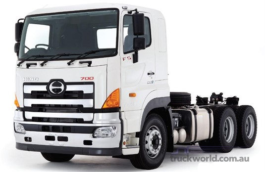 Hino 700 Series FS2844 Manual Air