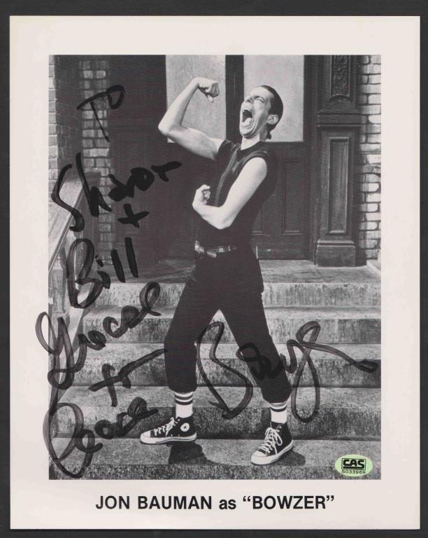 John Bowser Bowman Sha Na Na Autographed 8x10 Hibid Auctions