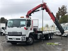 2010 Isuzu FVY 1400 Crane Truck