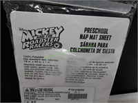 Mickey And The Roadster Racers Preschool Nap Mat