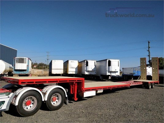 2013 Western Hi Way Drop Deck Trailer Wheellink - Trailers for Sale
