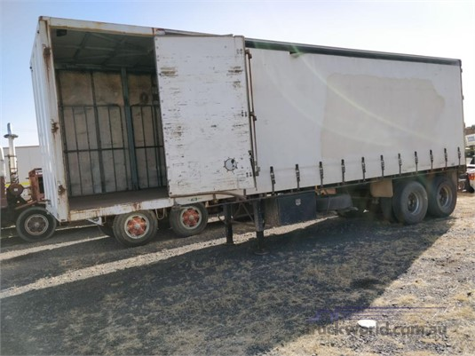 2000 Evertrans Curtainsider Trailer Wheellink - Trailers for Sale