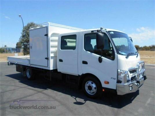 2016 Hino 300 Series 716 Hybrid Crew - Trucks for Sale