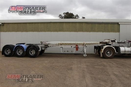 2000 Maxitrans Skeletal Trailer Semi Trailer Sales - Trailers for Sale