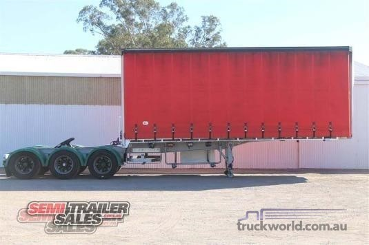 2004 Krueger Curtainsider Trailer Semi Trailer Sales - Trailers for Sale