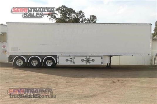 2001 Vawdrey Refrigerated Trailer Semi Trailer Sales - Trailers for Sale