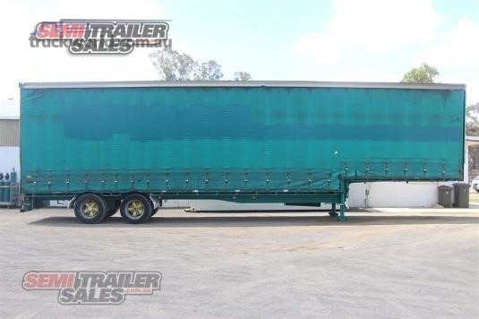 2003 Vawdrey Curtainsider Trailer Semi Trailer Sales - Trailers for Sale