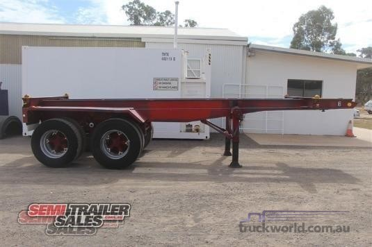 1990 Custom Skeletal Trailer Semi Trailer Sales - Trailers for Sale