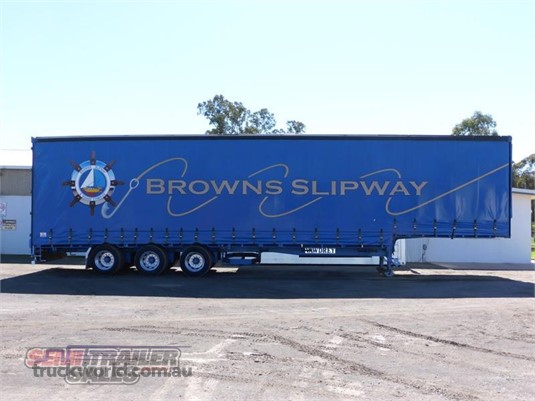 2001 Vawdrey Drop Deck Trailer Semi Trailer Sales - Trailers for Sale