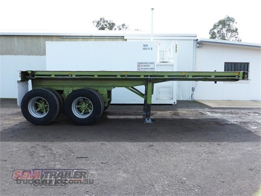 1990 Custom Flat Top Trailer Semi Trailer Sales - Trailers for Sale