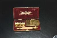 Vintage Gillette Razor Set, W/ Blade Box,others