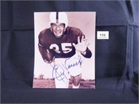 Billy Vessels; Oklahoma University; Signed