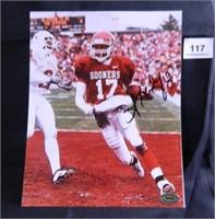 Andre Woolfolk; Oklahoma University; signed