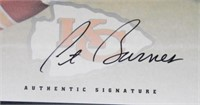 Pat Barnes; Kansas City Chiefs; signed; Leaf 97