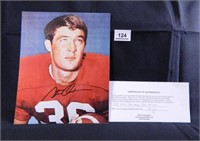 Steve Owens; Oklahoma University; signed