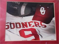 Oklahoma Sooners matted photo