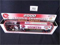 Oklahoma Sooners Toy Replica Semi Truck