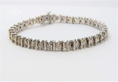 7 Carat Diamond Tennis Bracelet Other Items For Sale In