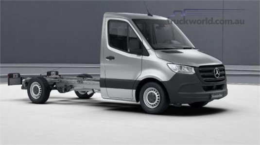 Mercedes Benz Sprinter FWD Single Cab Chassis 314 MWB 9AT